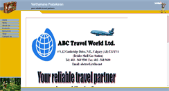 Preview of abctravel.ca